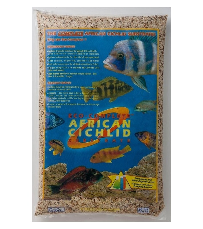 CaribSea Eco-Complete Cichlid Ivory Coast Live Sand