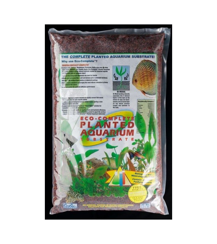 CaribSea Eco-Complete Live Planted Red