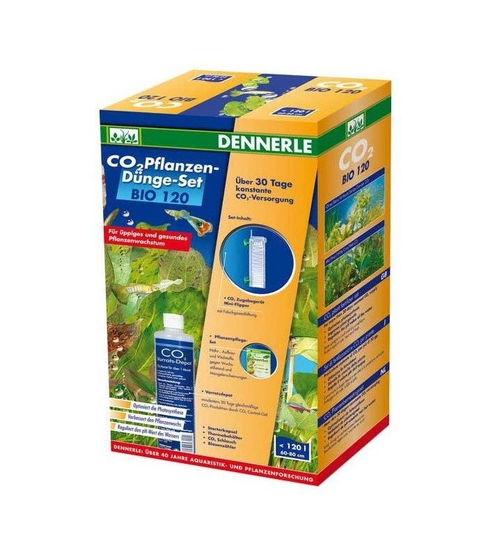 Dennerle BIO CO2 120 Complete Set