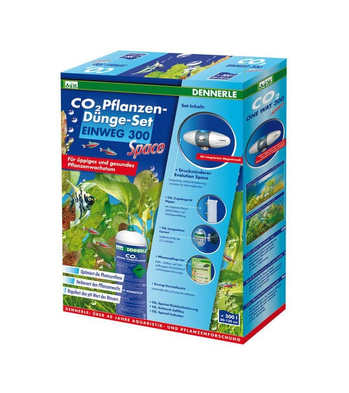 Dennerle CO2 fertilizer kit 300 Quantum
