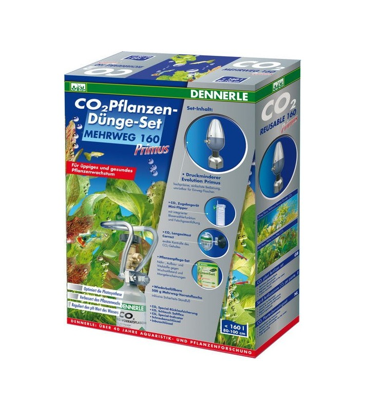 Dennerle CO2 Reusable fertilizer kit 160 PRIMUS