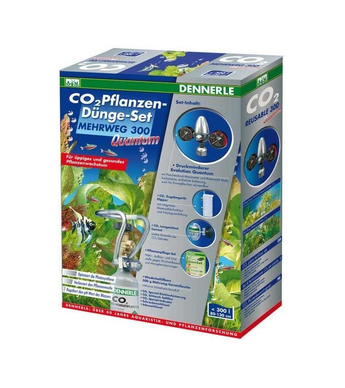 Dennerle CO2 Reusable fertilizer kit 300 Quantum