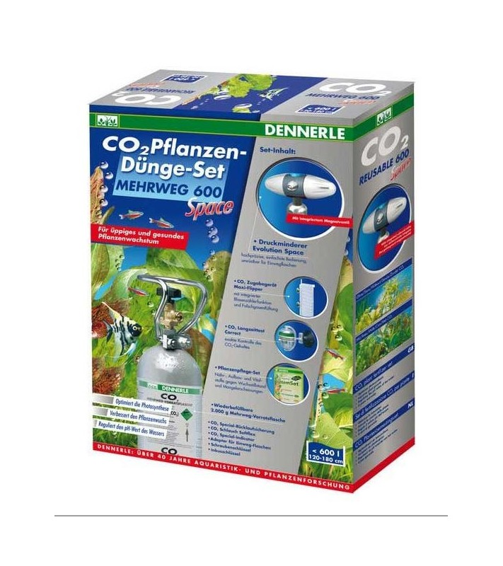 Dennerle CO2 Reusable fertilizer set 600 Space