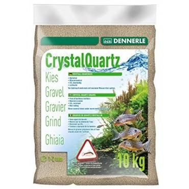 Dennerle Crystal Quartz Gravel natural white