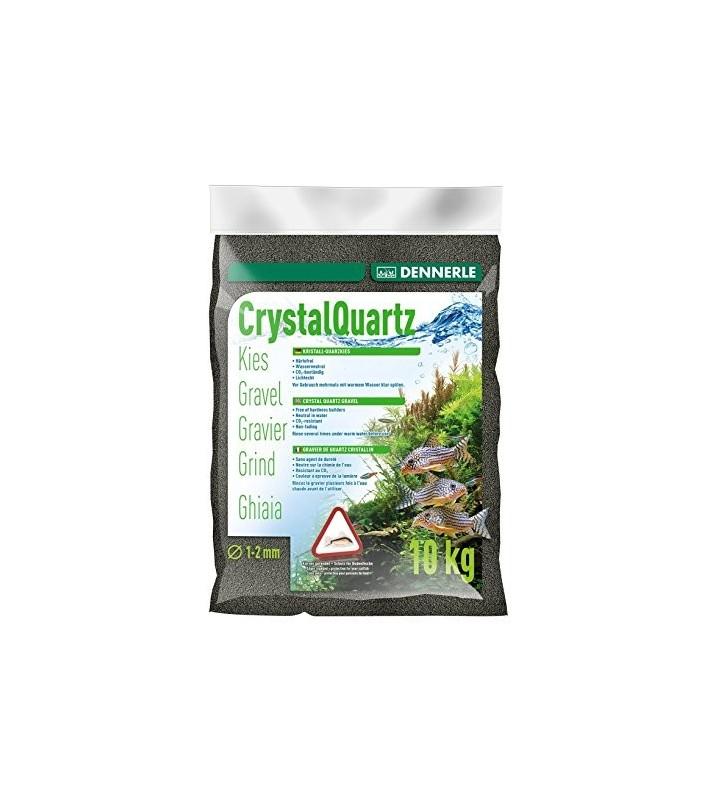 Dennerle Crystal Quartz Gravel Diamond Black