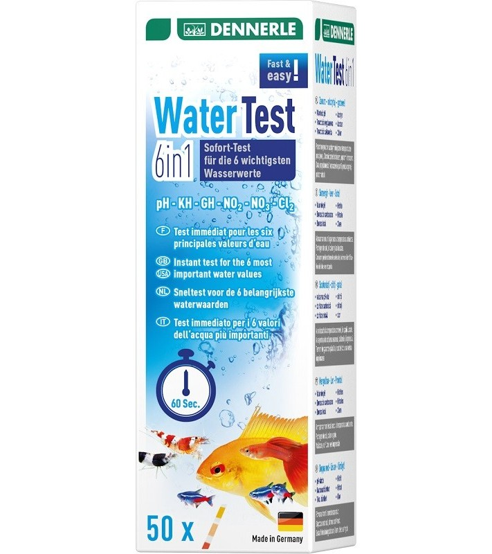 Dennerle Water Test 6 in 1