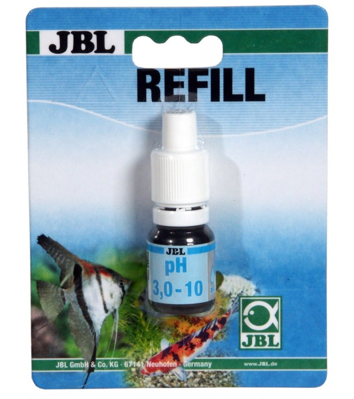 JBL pH Test 3.0-10.0 Refill