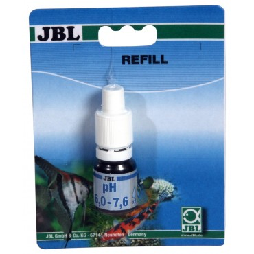JBL pH Test 6.0-7.6 Refill