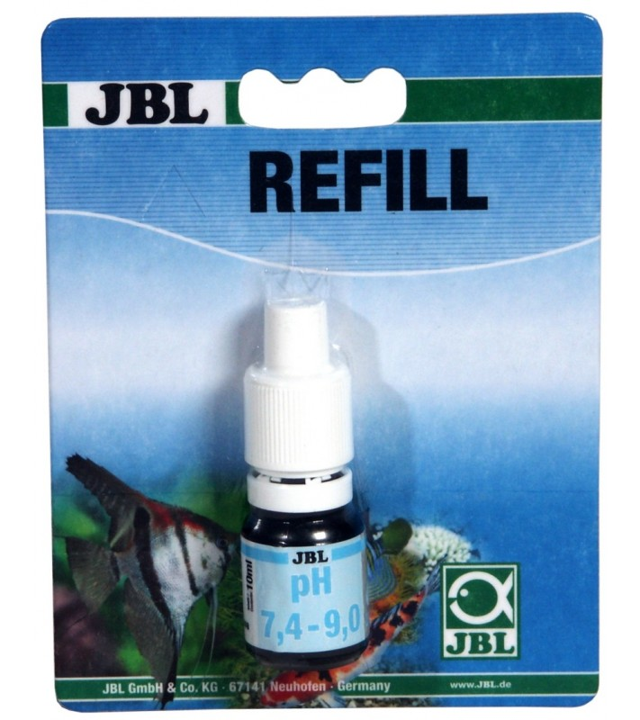 JBL pH Test 7.4-9.0 Refill