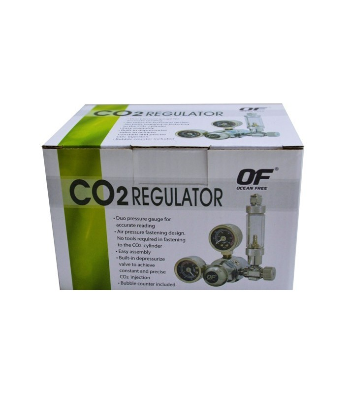 Ocean Free CO2 Regulator/Bubble Counter