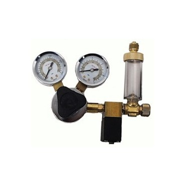 Ocean Free CO2 Regulator Solenoid W/Bubble Counter