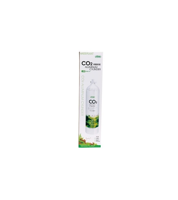Ista Butelie CO2 Aluminu 1L Premium face-up